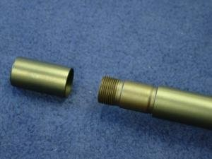 Quatromax Blaser spigot stem and thread cap