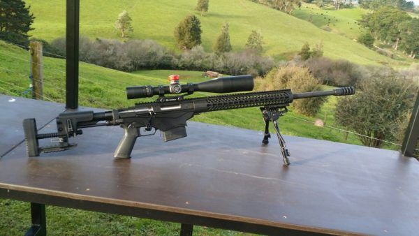 Ruger Rifle with QT kit