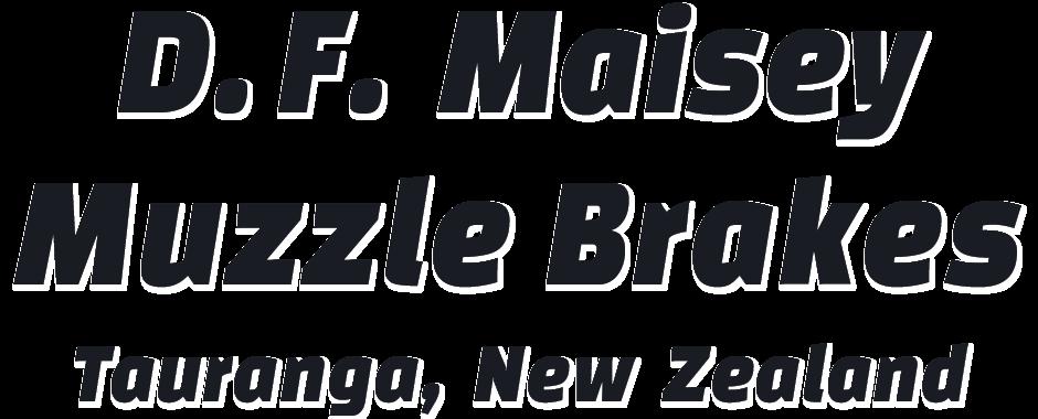D.F. Maisey Muzzle Brakes
