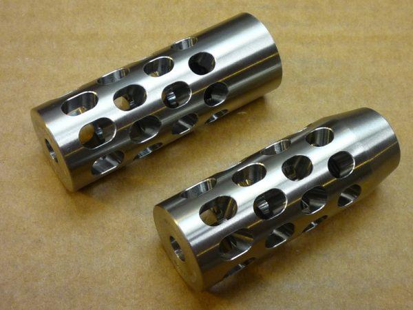 Quatromax AR15/AR10 muzzle breaks